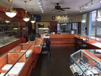 Inside of the Jewelry Link Store